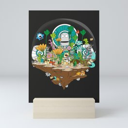 Monsterland Mini Art Print