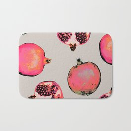 Pomegranate Pattern Bath Mat