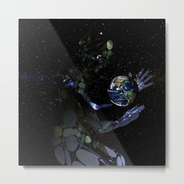 Outta This World II Metal Print