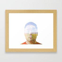 Thinking of you: Fran Framed Art Print