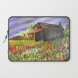 peace and poppies Laptop Sleeve