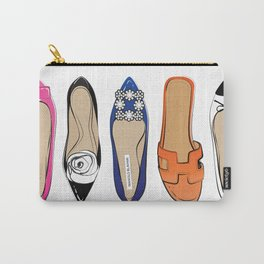 Designer Brand Shoes Carry-All Pouch