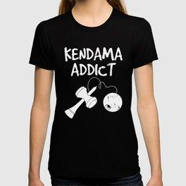 Japanese Toy Addict Funny Kendama design T-shirt