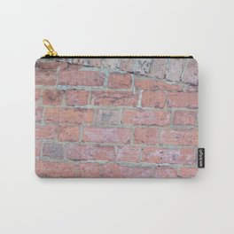 Red Brick Texture Carry-All Pouch