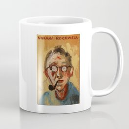 50 Artists: Norman Rockwell Coffee Mug