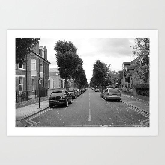 Culmington Road Art Print