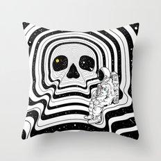 Blackout (Departure) Throw Pillow