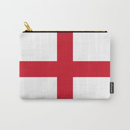 Flag of England (St. George's Cross) - Authentic version to scale and color Carry-All Pouch