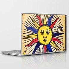 Le soleil Tarot card design Laptop & iPad Skin