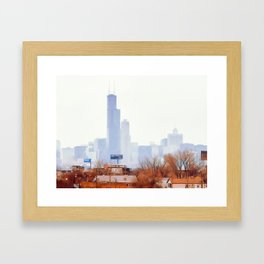 Tale of Two Cities Framed Art Print