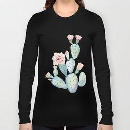 Desert Rose Cactus Pink Long Sleeve T-shirt
