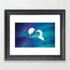Love is infinite Framed Art Print