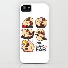 You Look Fab! -Puglie Slim Case iPhone SE