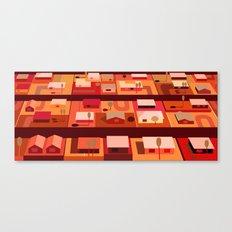 Downtown Desert (Horizonatal) Canvas Print