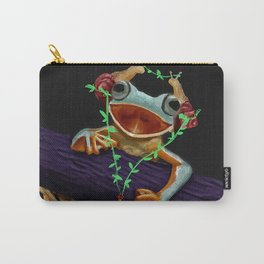 Frog Friend Carry-All Pouch