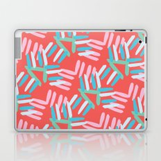 Coral and Turquoise Laptop & iPad Skin