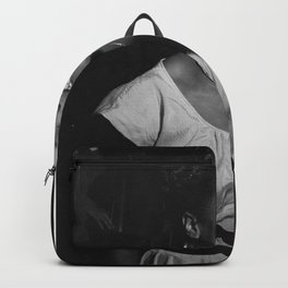 Sarah Vaughan, Home Wall Art Poster Backpack