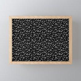 Memphis Pattern 11 - 80s Retro Framed Mini Art Print