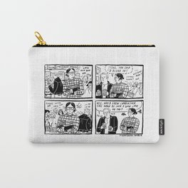 #21 - Accidental hipster Carry-All Pouch