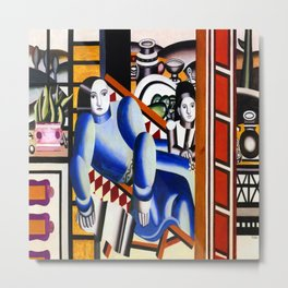Fernand Leger Mother and Child Metal Print