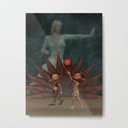 Protect the Children, Digital Art Metal Print