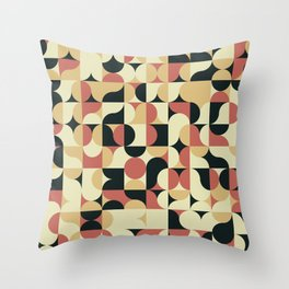 Abstract Geometric Artwork 41 Throw Pillow