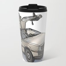 Stormtroooper in a DeLorean - star wars Travel Mug