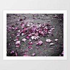 fallen breeze... Art Print