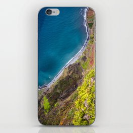 Madeira -view from cliff iPhone Skin