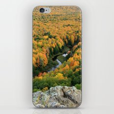 Autumn Colors at the Carp River Valley, Porcupine Mountains State Park, Upper Peninsula, MI iPhone & iPod Skin