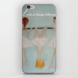 Look at things differently iPhone Skin