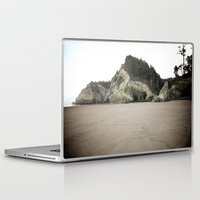 coasters Laptop & iPad Skins featuring Hug Point, Oregon by A Wandering Soul