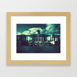 'At The Museum' by TDL Framed Art Print