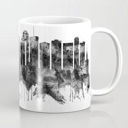 Columbus Ohio skyline BW Coffee Mug