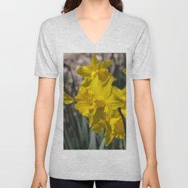 Daffodils 2 Unisex V-Neck