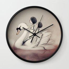 A Trip Down Memory Lake Wall Clock