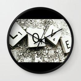 In Love Wall Clock