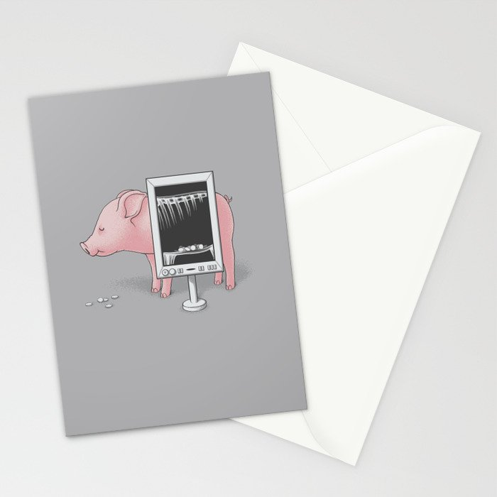 Saving money Stationery Cards