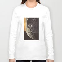 gorilla Long Sleeve T-shirts featuring gorilla by Hugo Barros