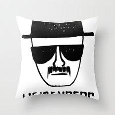 Heisenberg - Breaking Bad Sketch Throw Pillow