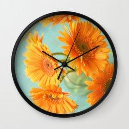 Daisy Chair Wall Clock