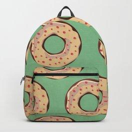 Vintage Donut Pattern Backpack