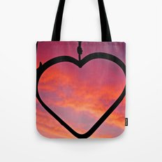 Love Sunset Tote Bag