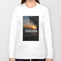 thailand Long Sleeve T-shirts featuring Thailand by Ciaran Mcg