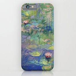 Water Garden iPhone Case