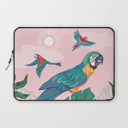 Treetop Parrots Laptop Sleeve