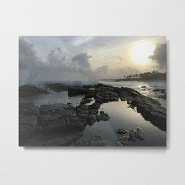 Secret Beach Sri Lanka Metal Print