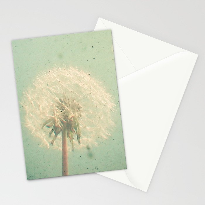 Dandelion Clock Stationery Cards