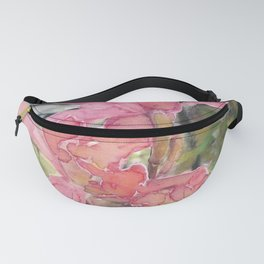 Pink Orchid In Greenhouse Fanny Pack