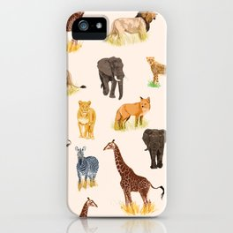 Safari Sightings iPhone Case